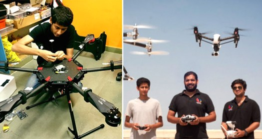 Drone startup Quidich has shown immense growth, created a special place in just 5 years