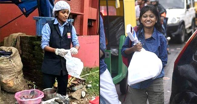 19 YO Kerala Girl Sells Fish And Donates 1.5 Lakhs To Needy People ...