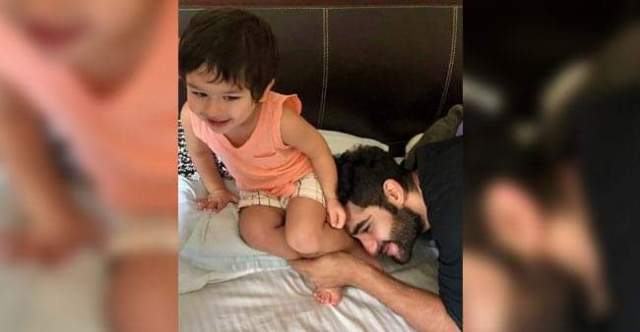 Pictures of Taimur Ali Khan And Armaan Jain Having Fun-Time On Saturday Will Make You Become A Kid Again