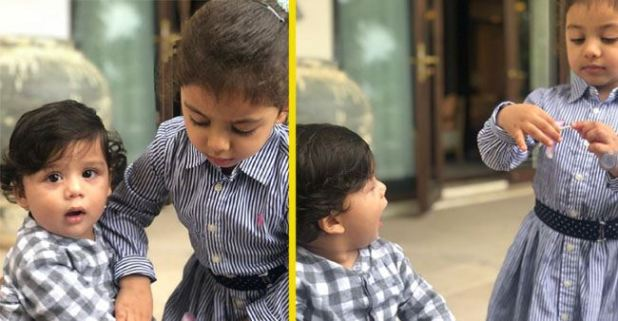 Cute Banter Of Zain And Misha Will Brighten Your Day, Mom Mira Rajput Shares The Picture