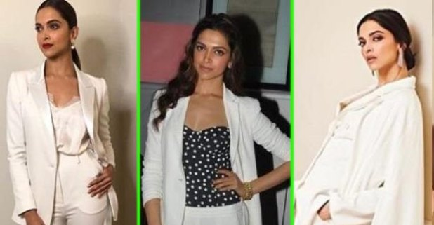 Deepika Padukone Amazingly Pulled On White Looks And Mesmerized Her Fans