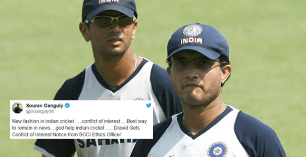 BCCI's conflict of interest notice to Rahul Dravid upsets Ganguly, Harbhajan