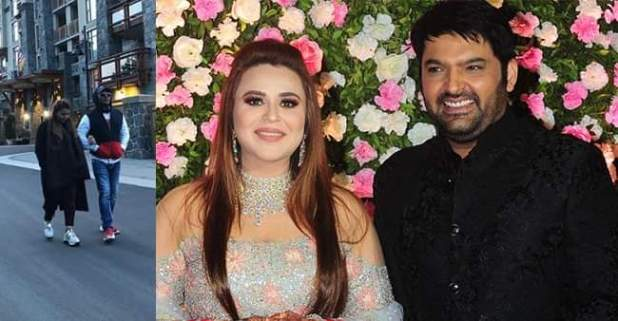 Kapil Sharma with wife Ginni took stroll on streets of British Columbia
