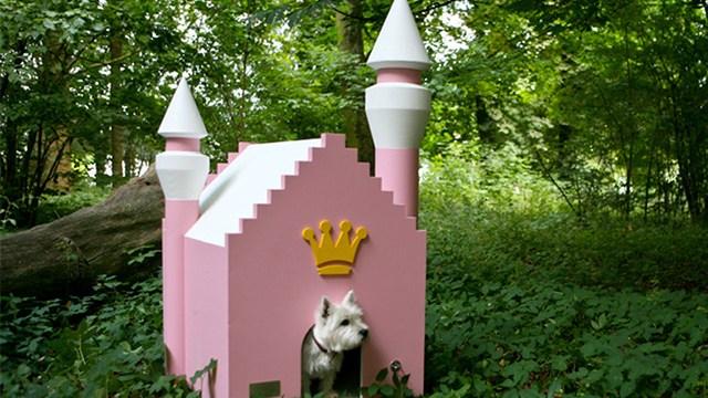 Luxury Dog Houses storybook dog houses