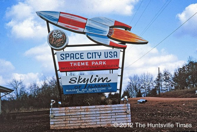 Space City Usa A Never Completed Space Theme Park In Alabama