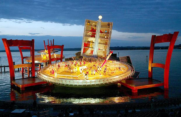 The Marvelous Floating Stage of the Bregenz Festival