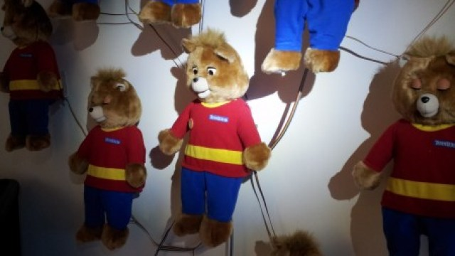 An Original Teddy Ruxpin Is Violently Disassembled To See Whats Inside