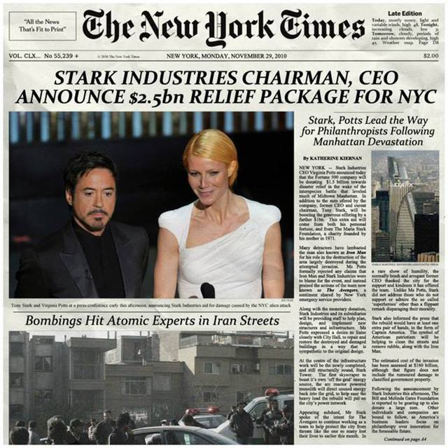 ironman and pepper potts relationship tips