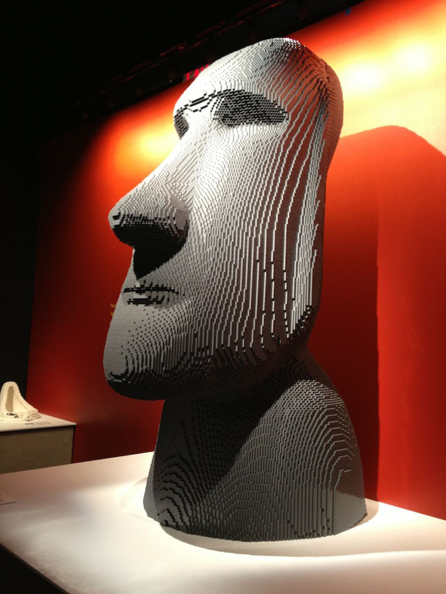 Art of the Brick by Nathan Sawaya