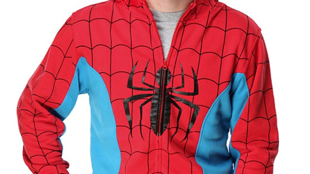 021ac16f2a51 Spider-Man Costume Hoodie