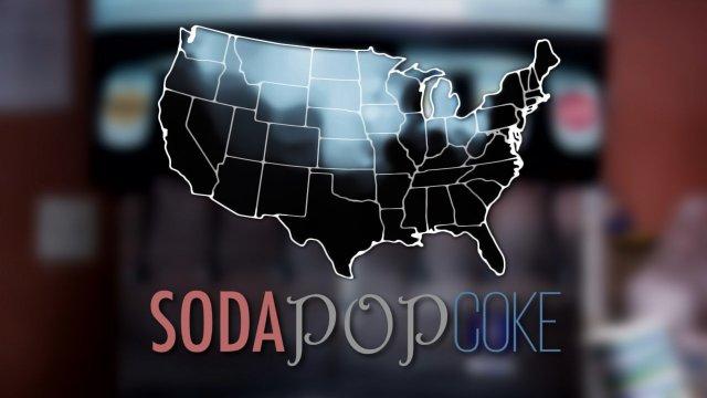 Soda Pop Or Coke Maps Of Regional Dialect Variation In The - Map of us coke pop soda
