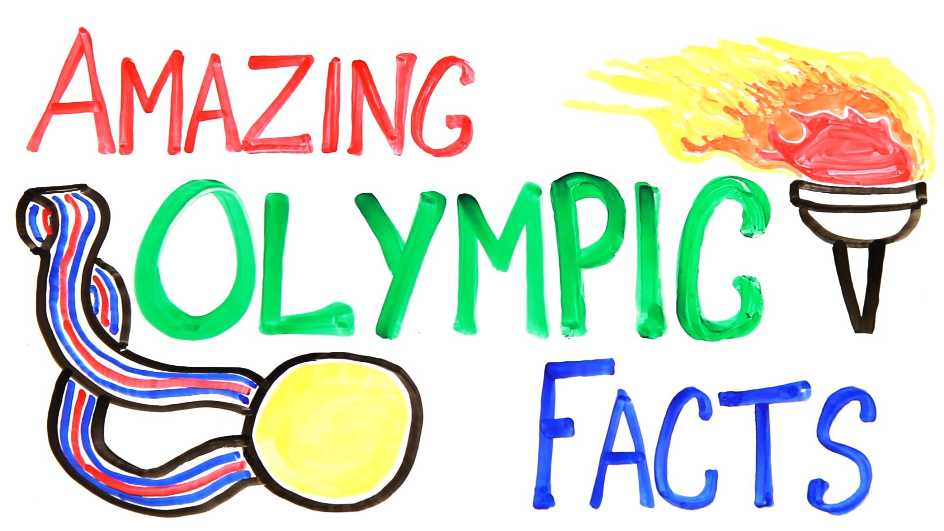 Amazing Olympic Facts By Asapscience