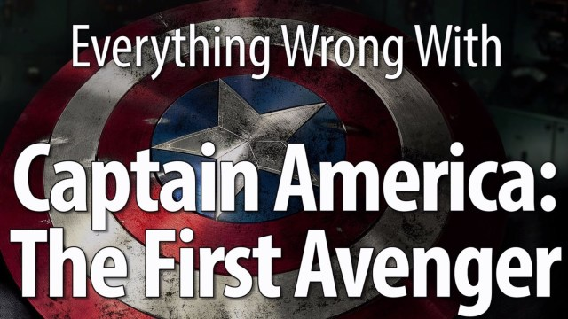 Everything Wrong with 'Captain America: The First Avenger' in 12 Minutes ...
