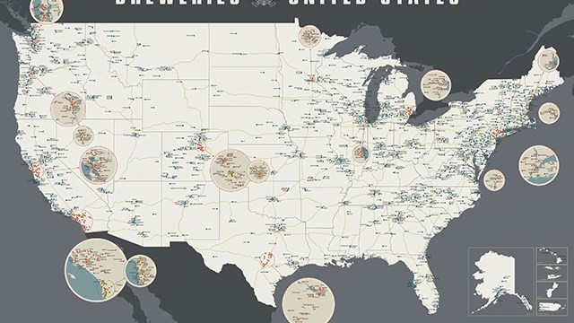 The Magnificent Map Of Rap Names - Rap of the map of the us