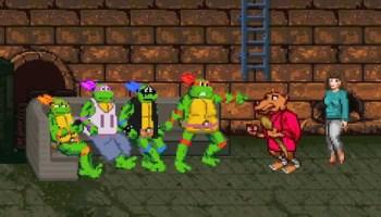 Teenage Mutant Koopa Troopas, Animated Mashup of 'Teenage Mutant