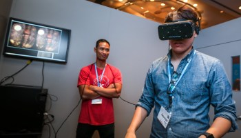 Living With Lag, An Oculus Rift Virtual Reality Headset