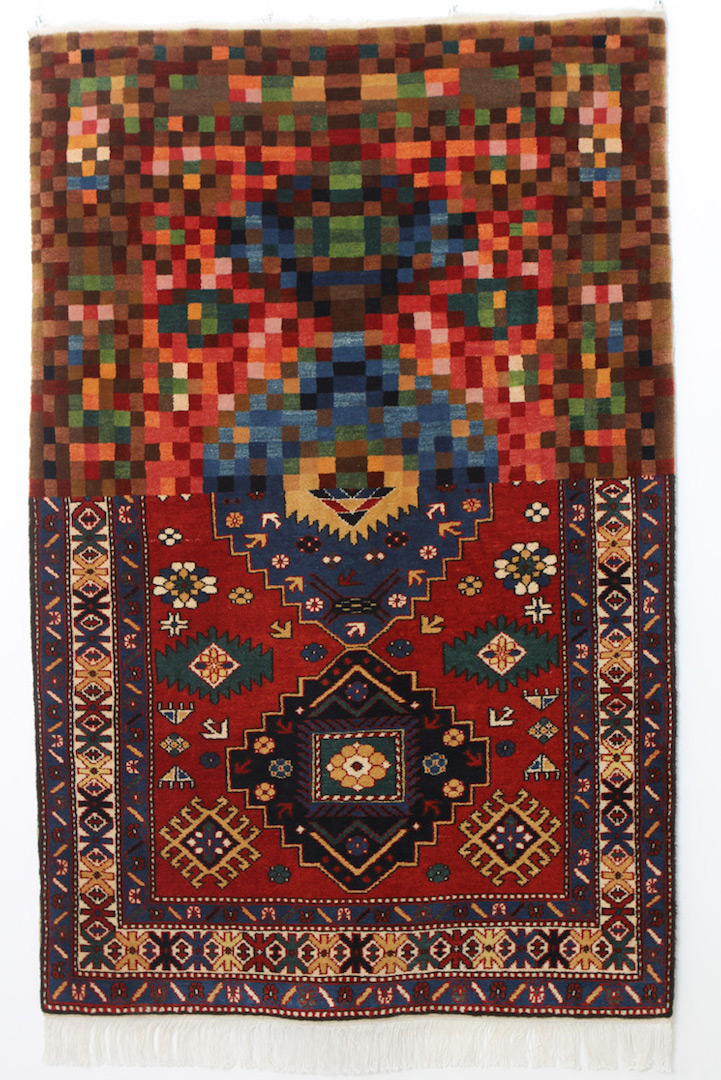 Artist Creates Traditional Azerbaijani Rugs That Look