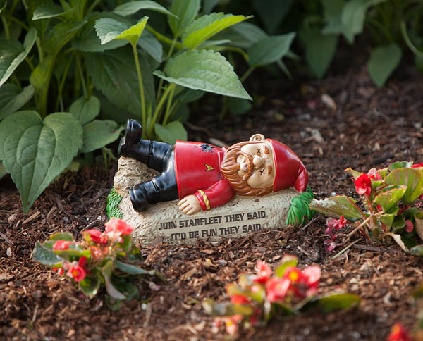 Star Trek Garden Gnomes That Help To Boldly Explore Strange New Plant Life Part 60