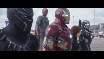 LEGO Stop Motion Animated Captain America: Civil War Battle
