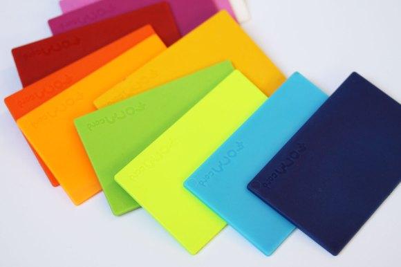 FORMcard multicolor cards