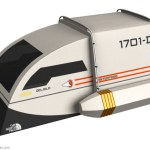 An Incredible Two-Person Tent Design Concept Based on a Star Trek Federation Shuttlecraft