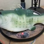 A Big Mouth Billy Bass Robotic Singing Fish Hacked So That It Answers As Amazon Alexa