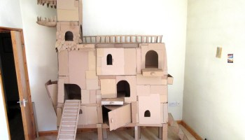Boxkitty, Connectable Cardboard Walls That Create