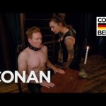 Conan O'Brien Submits to a Dominatrix, Dances, and Drinks Beer in Berlin
