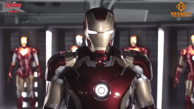 Case Modder Builds Life-Size Set of Iron Man Mk  45 Armor That