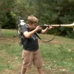 Father and Son Build a Hilariously Loud Trombone Rifle That Toots When Fired