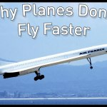 Why Airplanes Still Fly at the Same Speeds They Did in the 1960s Despite Technological Improvements