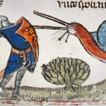 Why Knights Were Often Shown Fighting Snails in Medieval Artwork