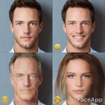 FaceApp, An App That Uses Artificial Intelligence to Add a Smile or Change Age and Gender in Photos