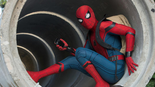 Beautiful Peter Parker Tests Out His New High Tech Suit in the Third Trailer for Spider