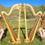 The Harp Twins Perform an Exquisite Cover of the Iron Maiden Song 'Run to the Hills'