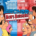 Archer Visits Bob's Burgers in an Amazing Crossover Episode Animated by a Fan