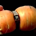 84 Year Old Woman Finds Her Lost Engagement Ring Wrapped Around a Carrot From Her Garden