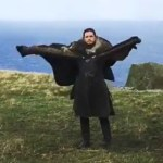 Emilia Clarke Posts Hilarious Behind-the-Scenes Video of Kit Harington Pretending to Be a Dragon