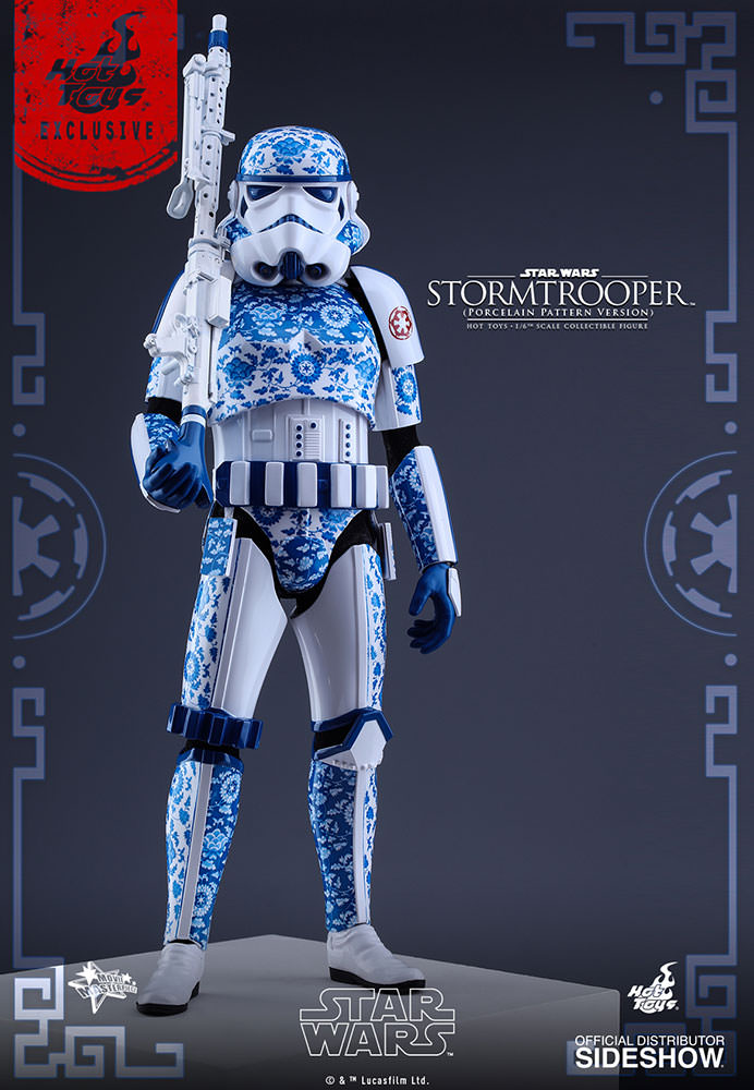 Porcelain Pattern Stormtrooper