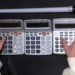 Star Wars Theme Song Performed on Calculators
