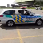 Brazilian Military Police Officer Shows How to Get Out of an Extremely Tight Parking Space