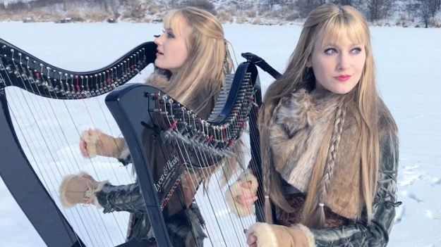 the-harp-twins-perform-a-rocking-cover-of-the-zed-leppelin-immigrant-song The Harp Twins Perform a Rocking Cover of Led Zeppelin's 'Immigrant Song' Random