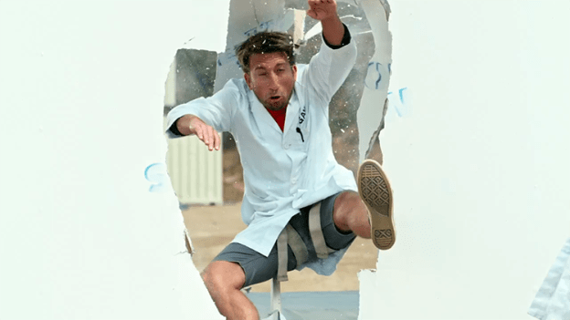 the-slow-mo-guys-perform-action-hero-stunts-and-hollywood-style-falls-in-super-slow-motion1 Crashing Through a Wall in Super Slow Motion Random