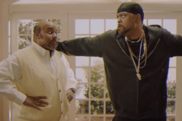 uncle-phil-and-method-man Means Guy Performs a Gangster in SNL's Hilariously Darkish 'Recent Prince of Bel-Air' Parody Random