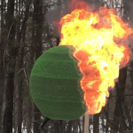 Man Builds a Giant Sphere Out of 42,000 Matches and Wonderfully Sets It on Fire