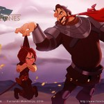 Game of Thrones Characters Wonderfully Illustrated in the Style of Disney Characters