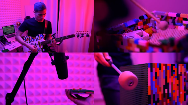 A Remarkable Automatic Guitar Strumming Robot Made Using LEGO ...