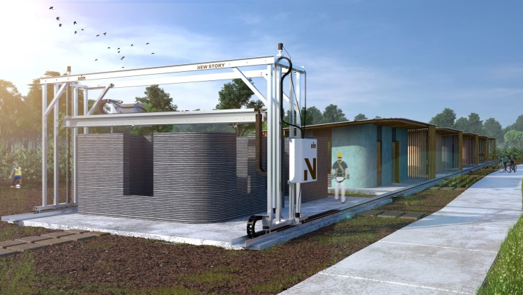 rendering-two An Amazing 3D Printer That Can Build Homes n 24 Hours for $4,000 Within Impoverished Communities Random