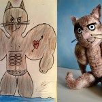 Artist Turns Kids' Original Drawings Into Plush Toys