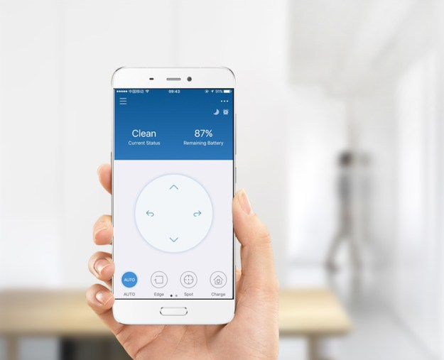 app Powerful ECOVACS Mini Robotic Vacuum Cleaner That Can Be Easily Controlled With a Smartphone Random